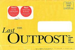 image of THE NEW YORK REVIEW OF BOOKS direct mail sales letter envelope