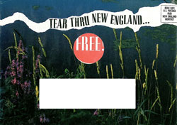 image of New England Monthly  direct mail envelope