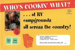 image of Best Ever RV Recipes direct mail envelope
