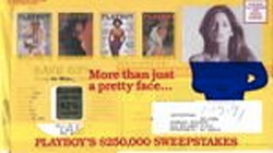 image of Playboy #2 direct mail envelope