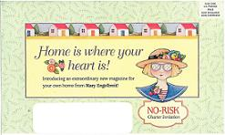 image of Mary Englebreit's Home Companion direct mail envelope