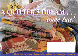 image of Classic American Quilt Collection direct mail envelope