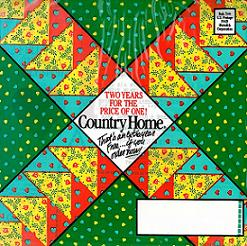 image of Country Home #2 direct mail sales letter envelope