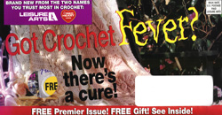 image of Crochet Fever direct mail sales letter envelope