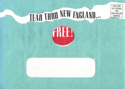 image of New England Monthly #3 direct mail sales letter envelope