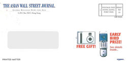 image of The Asian Wall Street Journal  direct mail envelope