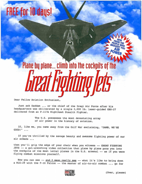 Time Life Great Fighting Jets