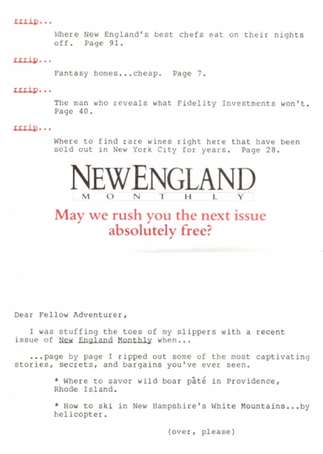 New England Monthly 3